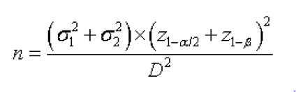 n equation