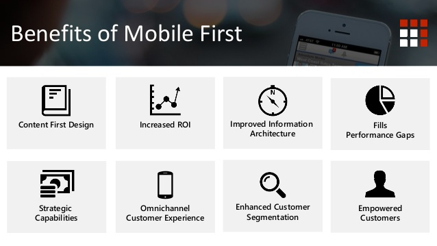 benefits of mobile first