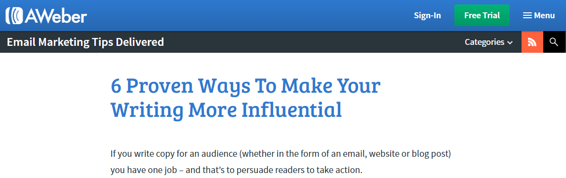 6 proven ways to make your writing more influential