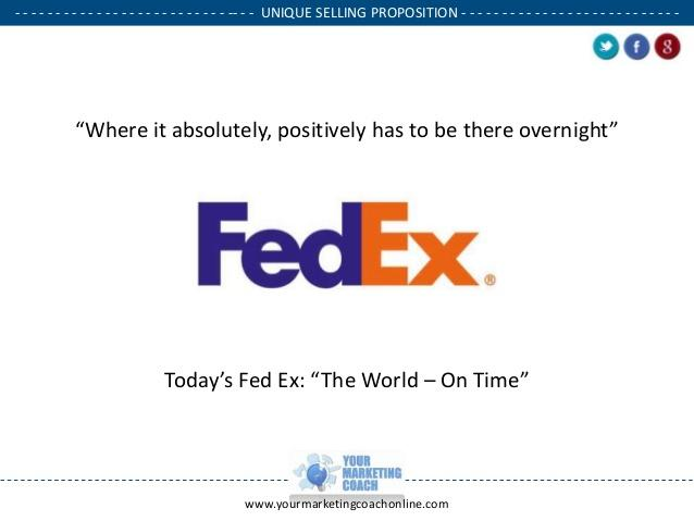 FedEx USP