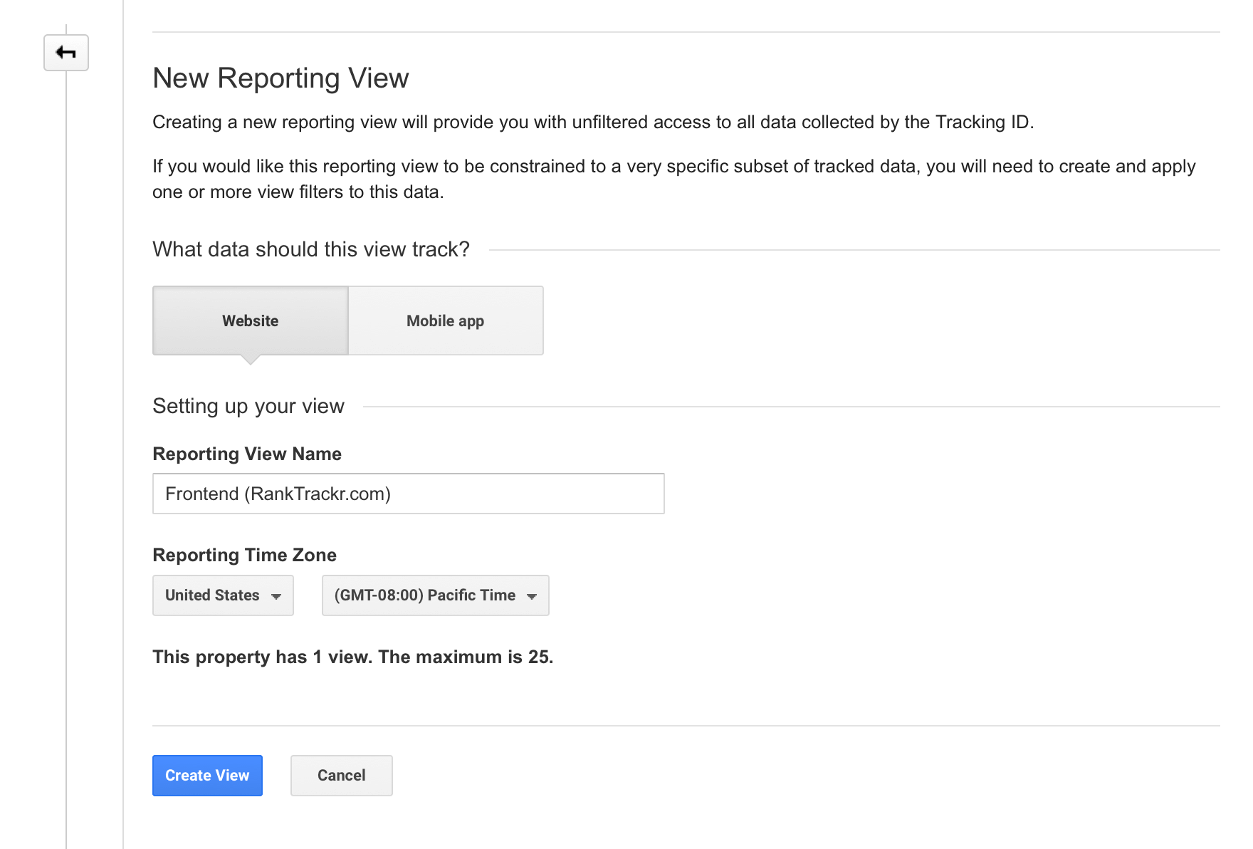 new-reporting-view