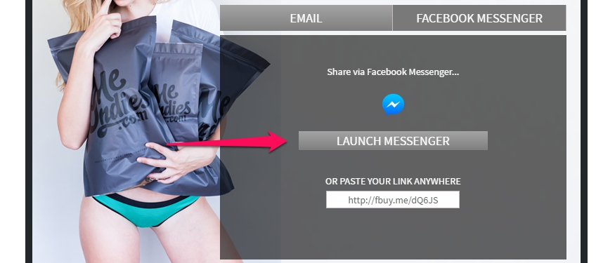 ecommerce referral marketing meundies messenger