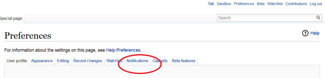 Wikipedia Watchlist Notifications