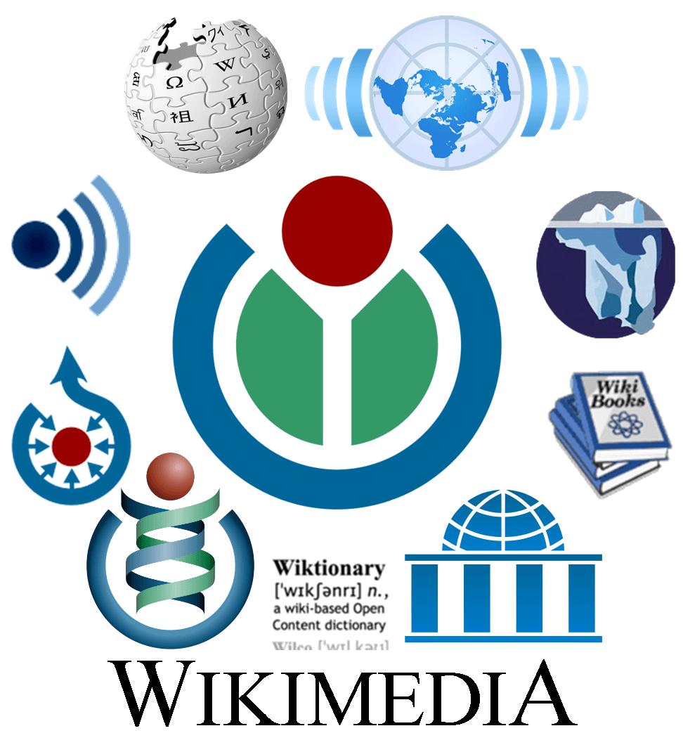 Wikimedia project logos