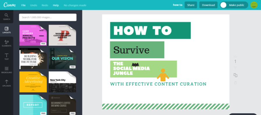 How to Survive The Social Media Jungle with Smart Content Curation |