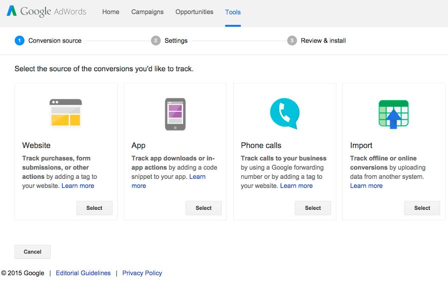 google adword tools