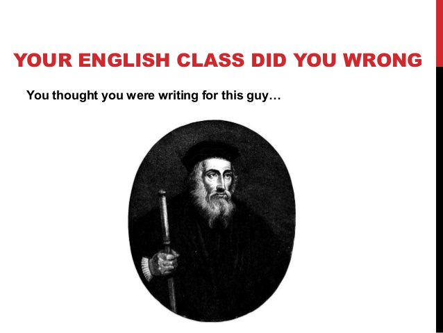 english class did you wrong