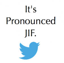 its pronounced jif