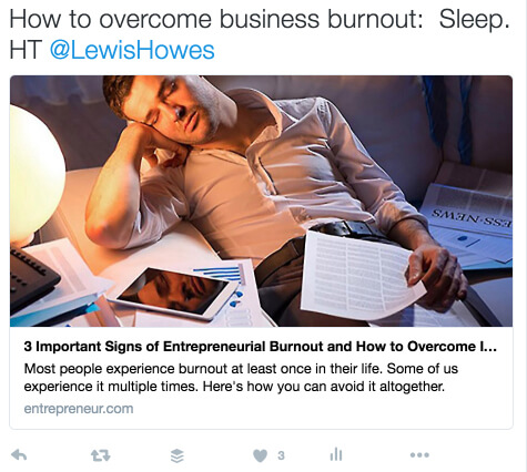 how to overcome business burnout