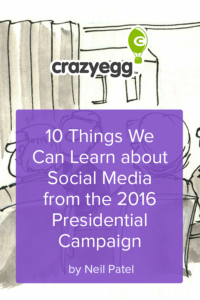 10 Things We Can Learn about Social Media from the 2016 Presidential Campaign