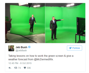 Jeb Bush Green Screen