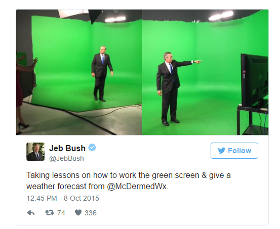 Jeb Bush Green Screen