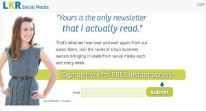 Using Customer testimonials for Landing page headline