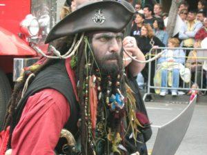 walk like a pirate