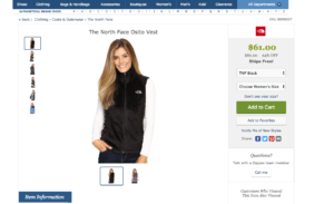 zappo personalization
