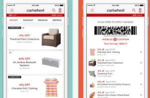 cartwheel mobile app personalization