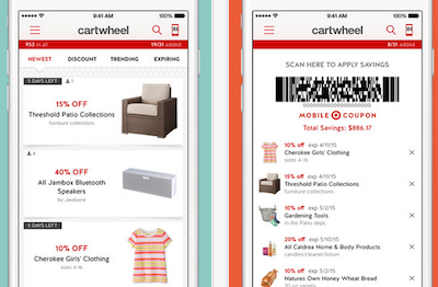 cartwheel mobile app personalization