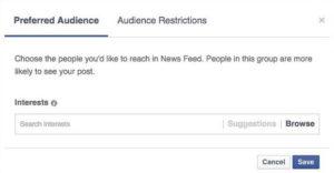 FB Audience Optimization