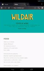 wildair wine