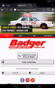 badger rideshare mobile