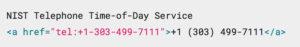 html telephone