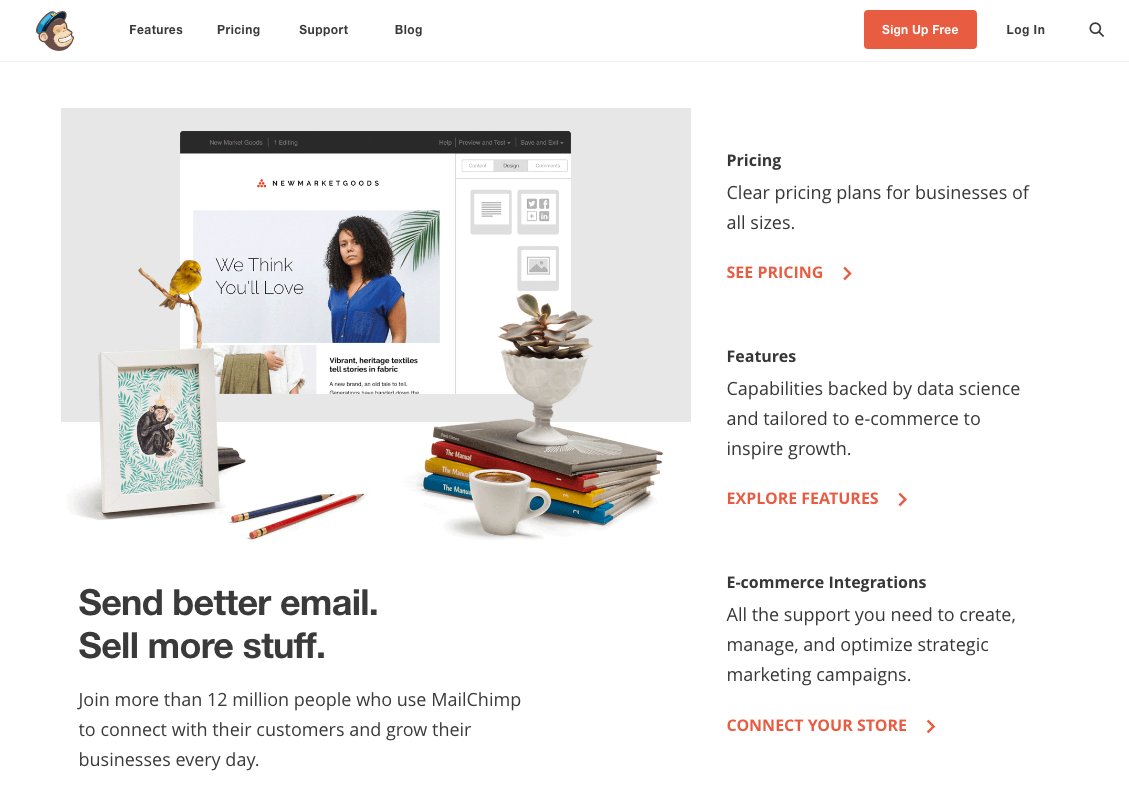 mailchimp send better emails