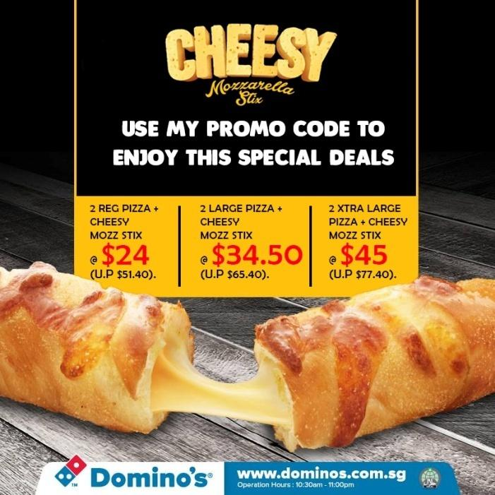 cheesy bread dominos