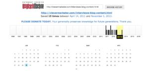 archive org result broken link building