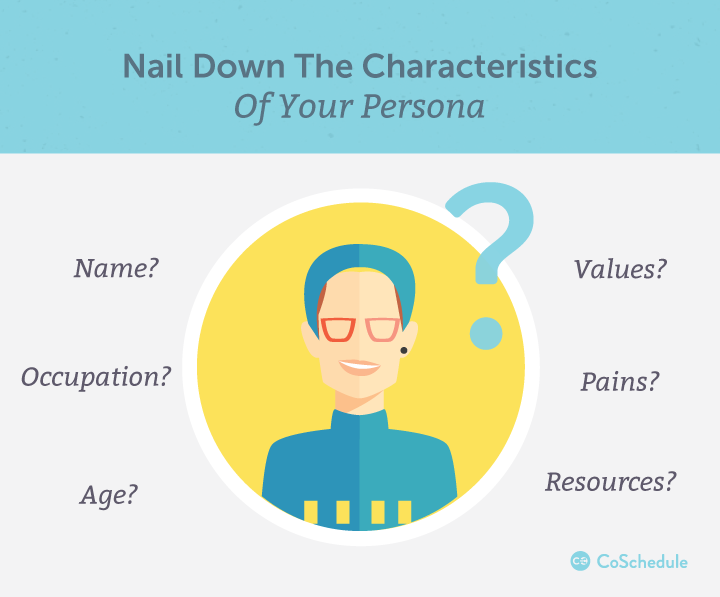 Characteristics of your persona