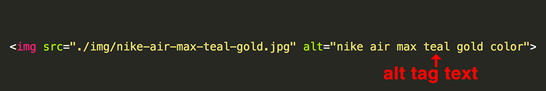 image code alt text example