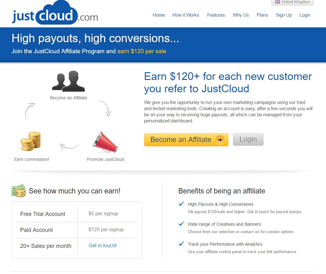 just cloud affiliates
