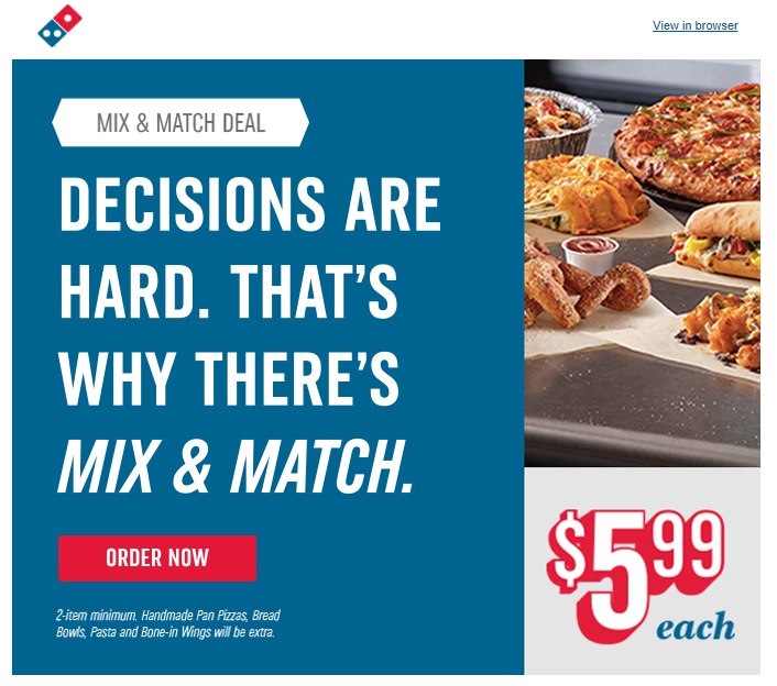 conversion-copywriting-dominos-pizza