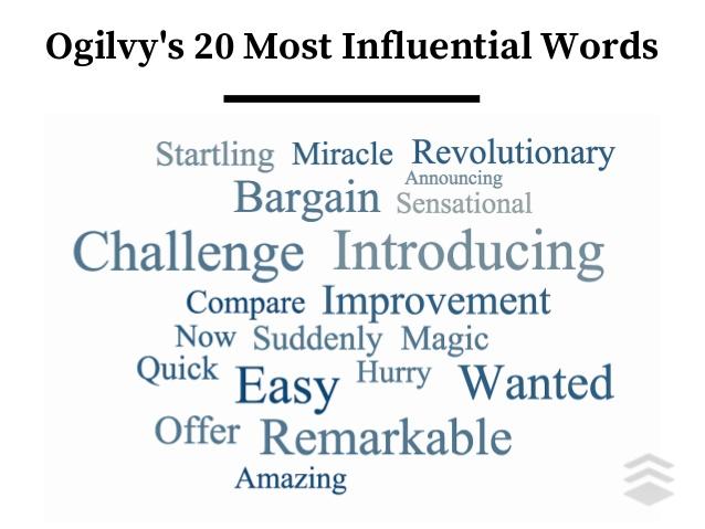 ogilvys most influential words