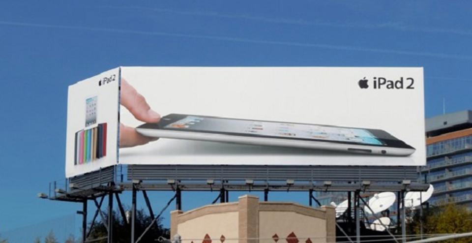 ipad2 billboard