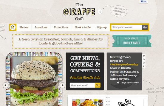 Giraffe Cafe