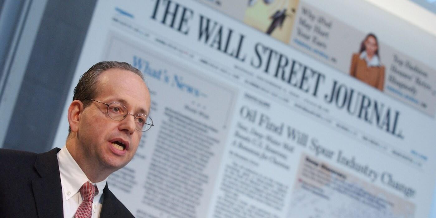 Wall street journal speech