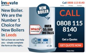 Innovate boiler Leeds