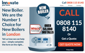 Innovate boiler London
