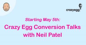conversion talks with Neil Patel
