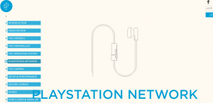 Playstation network anchor links