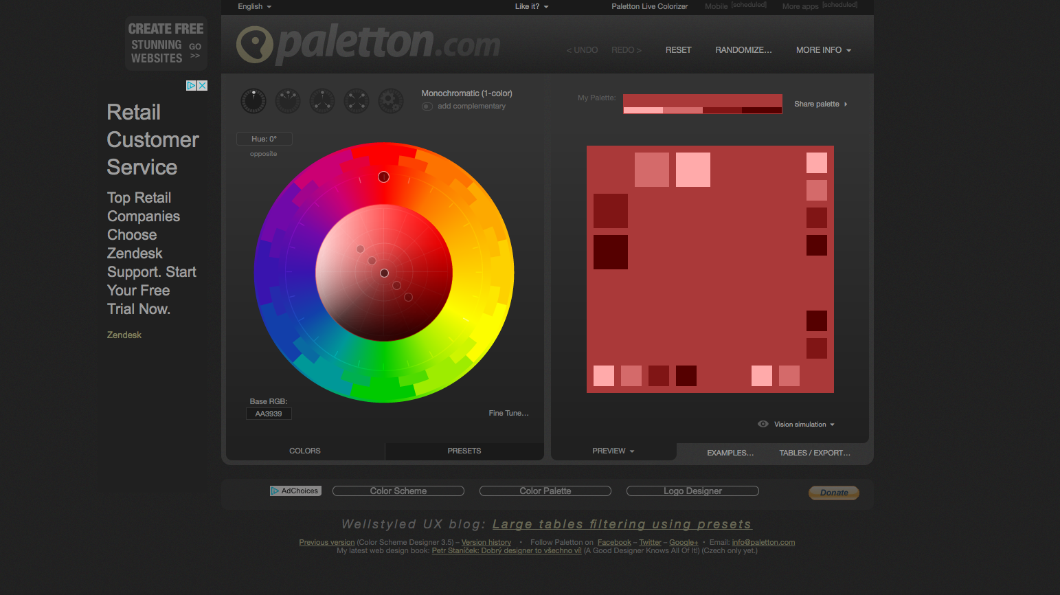 A Handy List of Resources for Picking the Perfect Website Color Palette