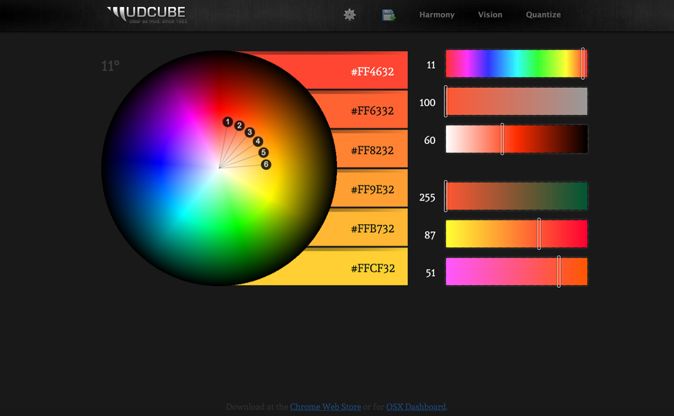 MudCube Color Sphere