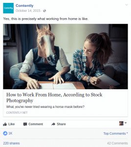 Contently How to Work From Home