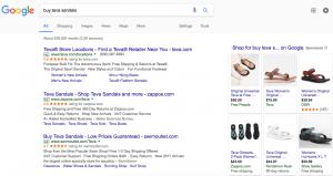 Google search teva sandals