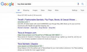 Google search buy teva sandals