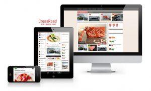 Crossroad blog magazine theme