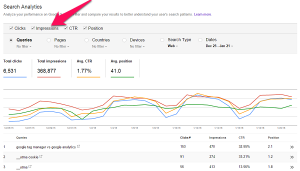ecommerce kpis search analytics