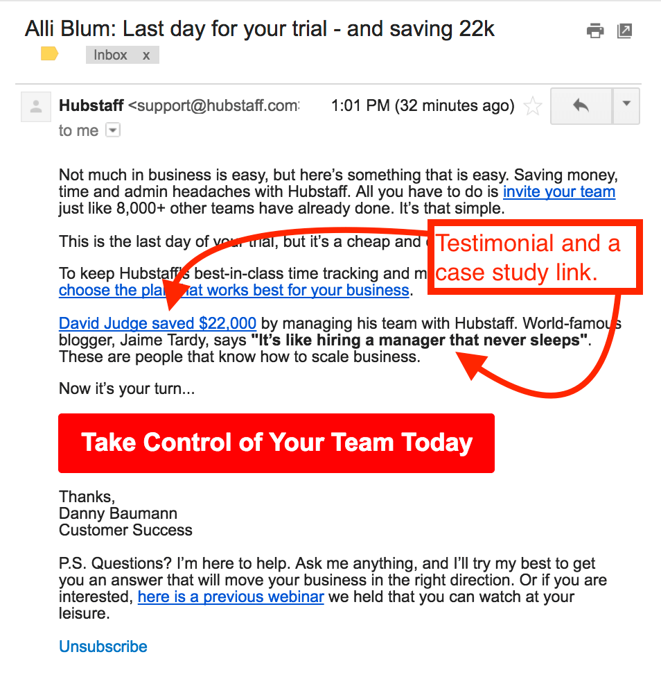 The SaaS Trial Email That Could Be Costing You 30% of CLTV & the