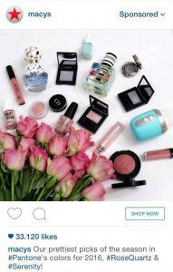 Macys Instagram Ad