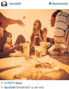 Tacobell Breakfast ad